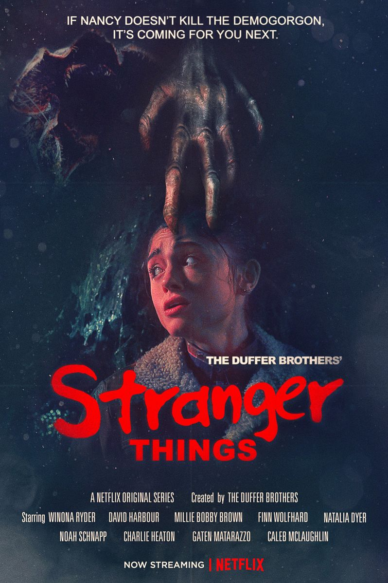 <strong><em>Stranger Things</em></strong> Season 2 Nightmare on Elm Street Poster