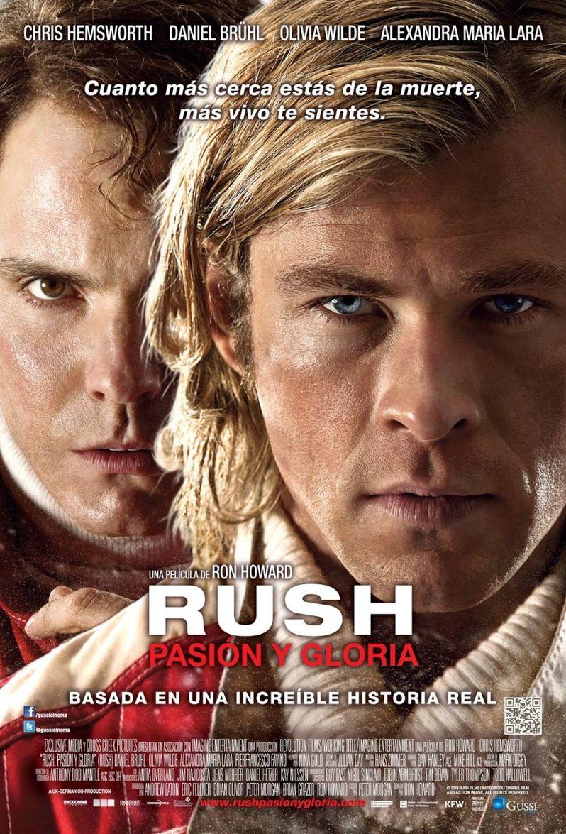 <strong><em>Rush</em></strong> International Poster 2