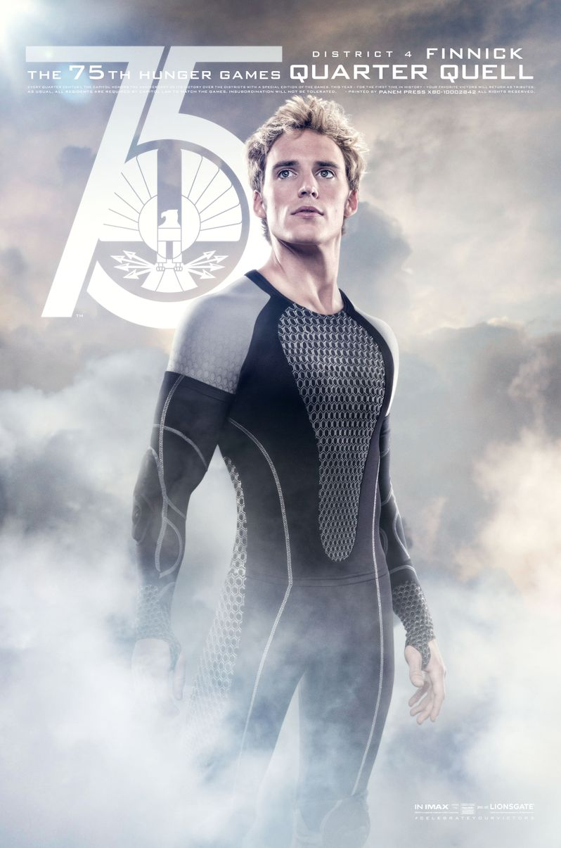 The Hunger Games Catching Fire Finnick Odair Poster