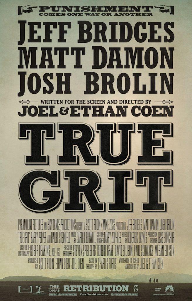 <strong><em>True Grit</em></strong> Poster # 3