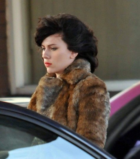 Scarlett Johansson on the set of <strong><em>Under the Skin</em></strong> #7