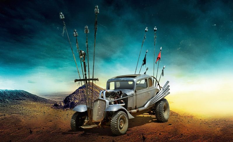 <strong><em>Mad Max: Fury Road</em></strong> The Nux Car Photo
