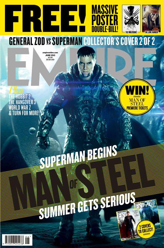 <strong><em>Man of Steel</em></strong> Empire Magazine Cover 2