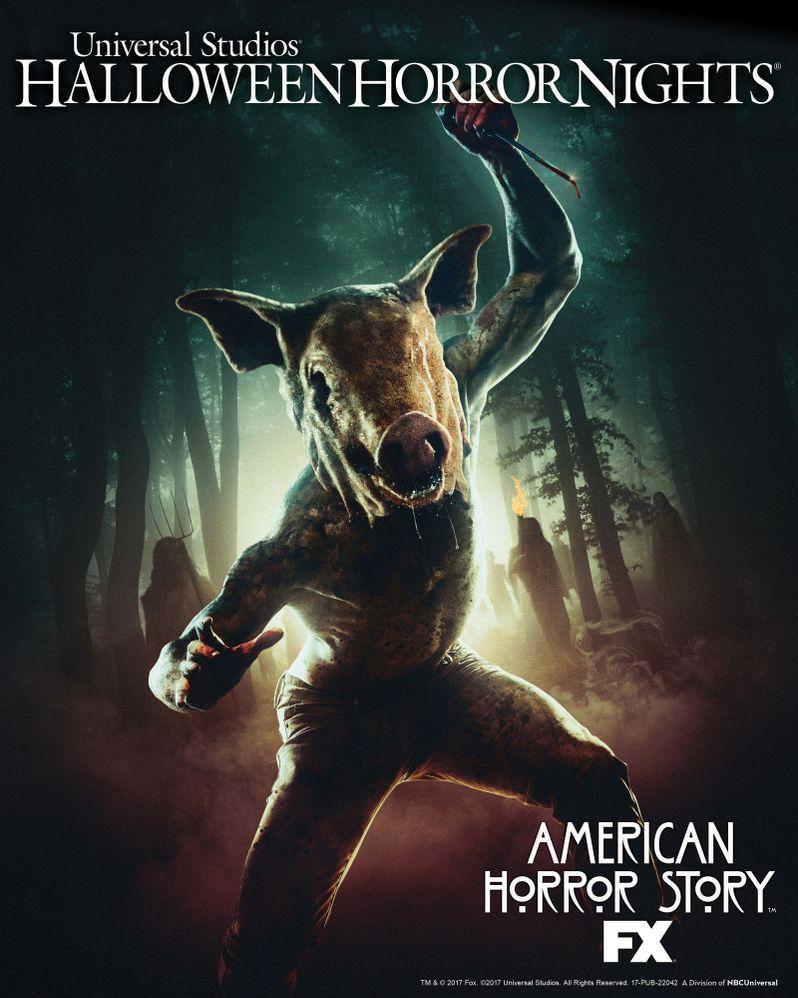 Halloween Horror Nights <strong><em>American Horror Story</em></strong> Roanoke Maze