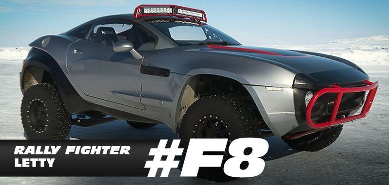 Fast & Furious 8 Letty Car Photo