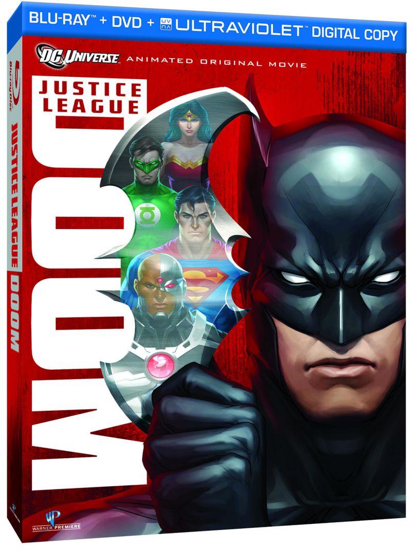 <strong><em>Justice League: Doom</em></strong> Blu-ray Art