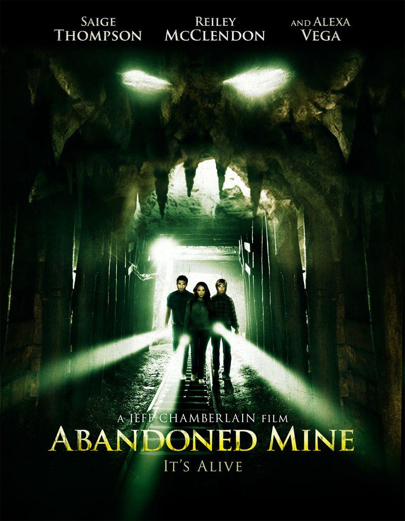 <strong><em>Abandoned Mine</em></strong> Poster