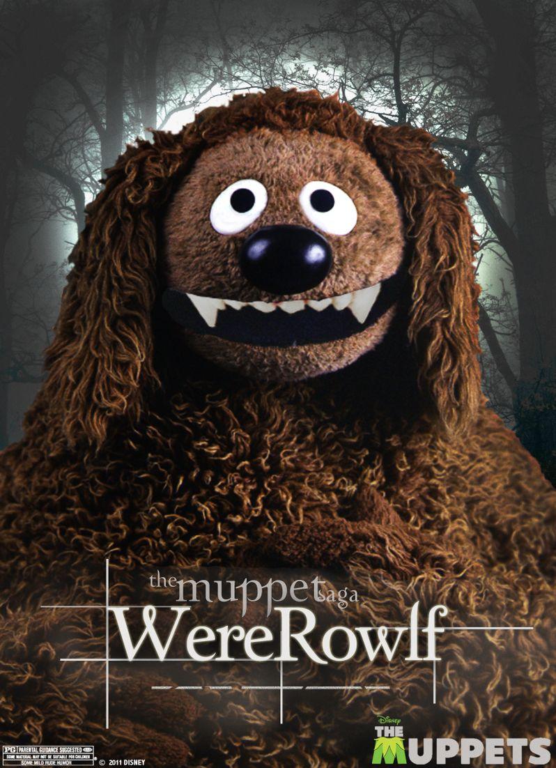 WereRowlf Muppets Poster