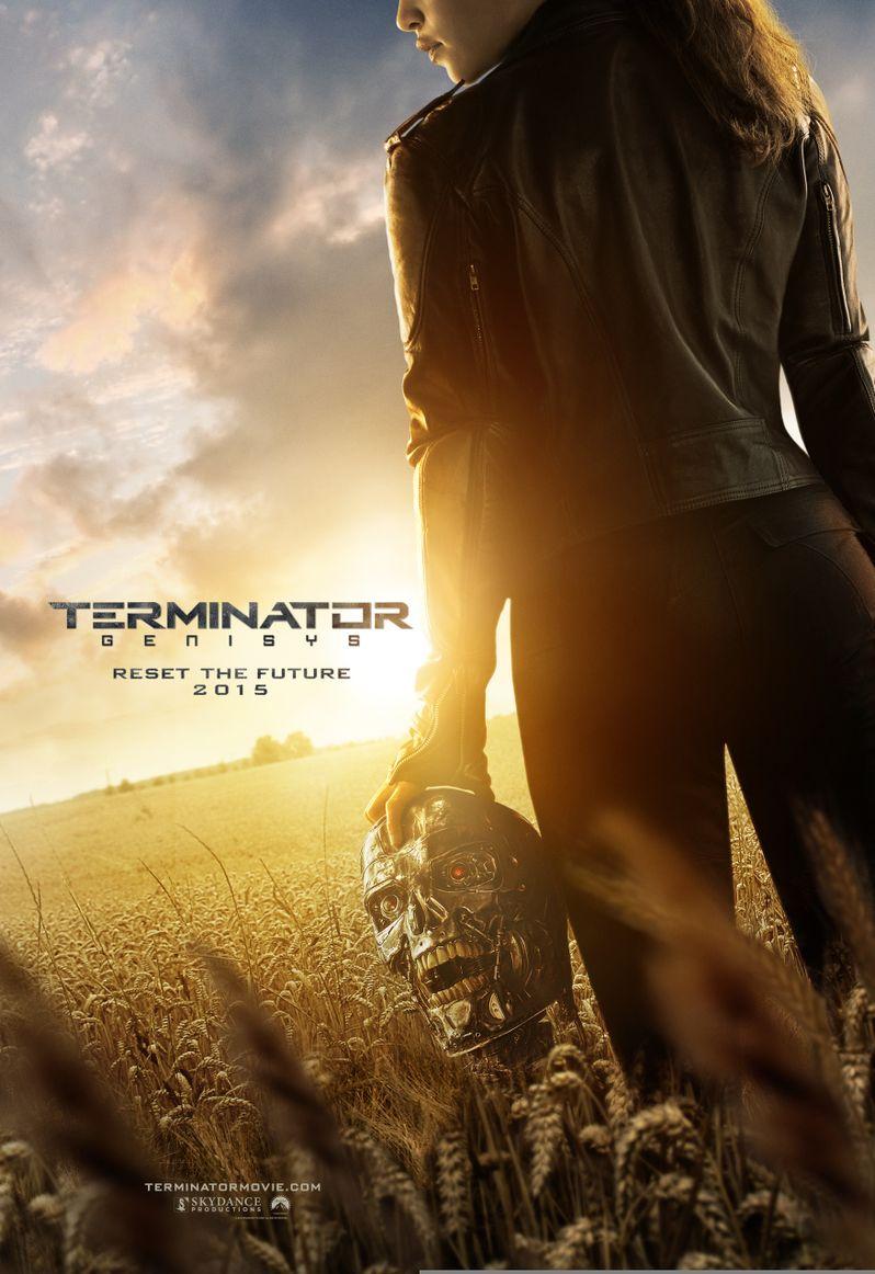 Terminator 5 Genisys Poster