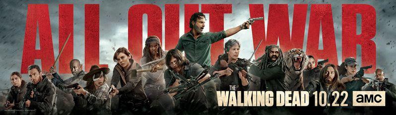 Walking Dead Season 8 All Out War Poster