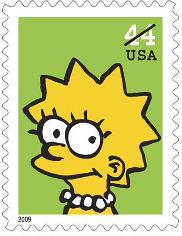 <strong><em>The Simpsons</em></strong> Postage Stamps #6