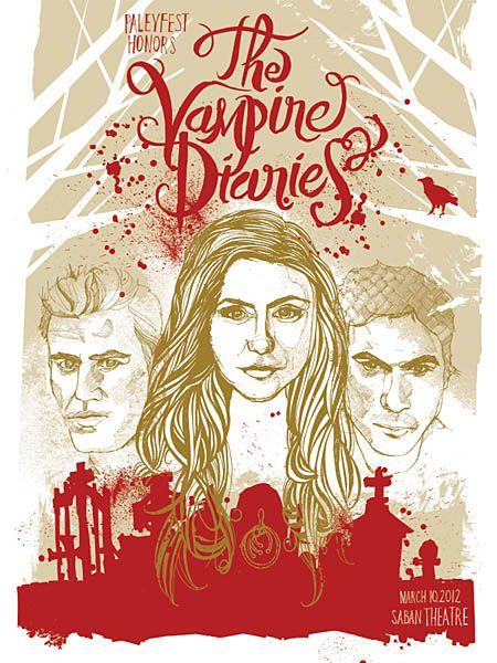 Paleyfest 2012 Vampire Diaires Promo Art