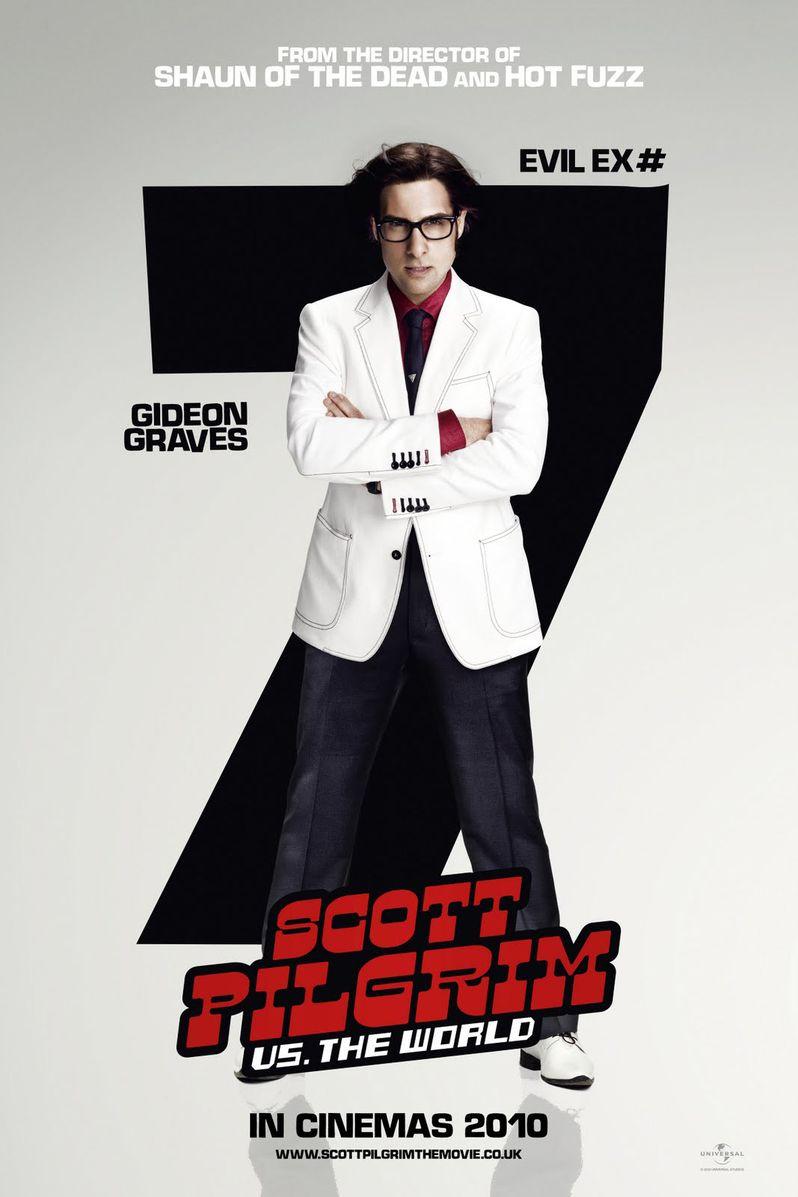 <strong><em>Scott Pilgrim Vs. the World</em></strong> Jason Schwartzman Character Poster