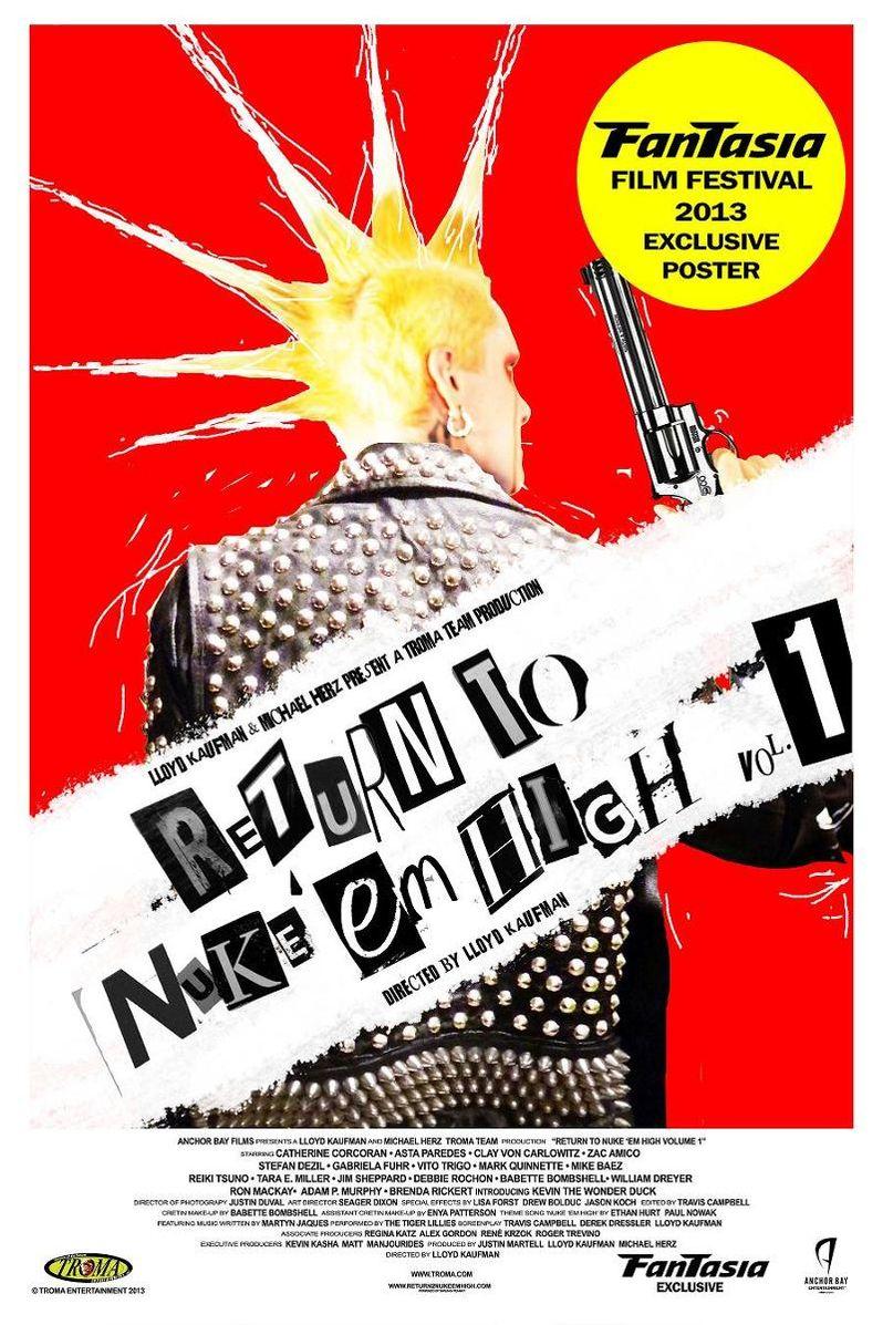 Return to Nuke 'Em High Poster 1