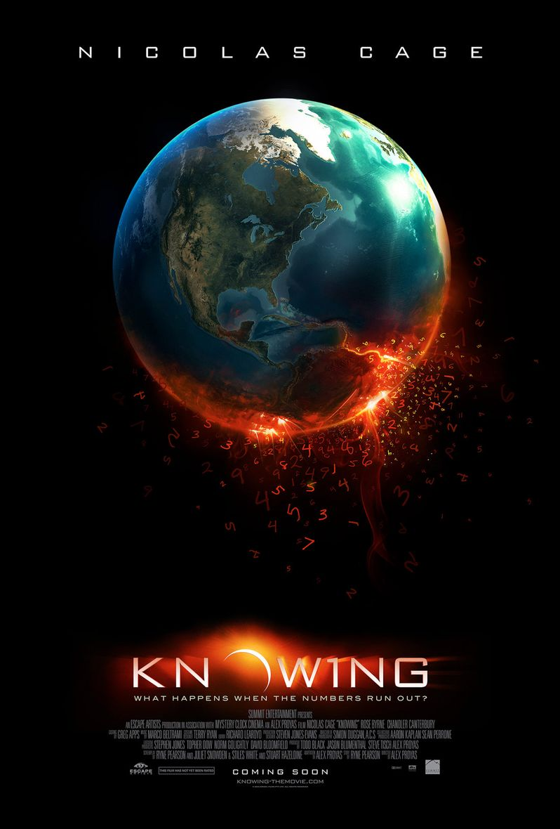 <strong><em>Knowing</em></strong> Poster