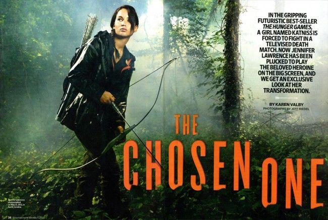 <strong><em>The Hunger Games</em></strong> Jennifer Lawrence Photo #1