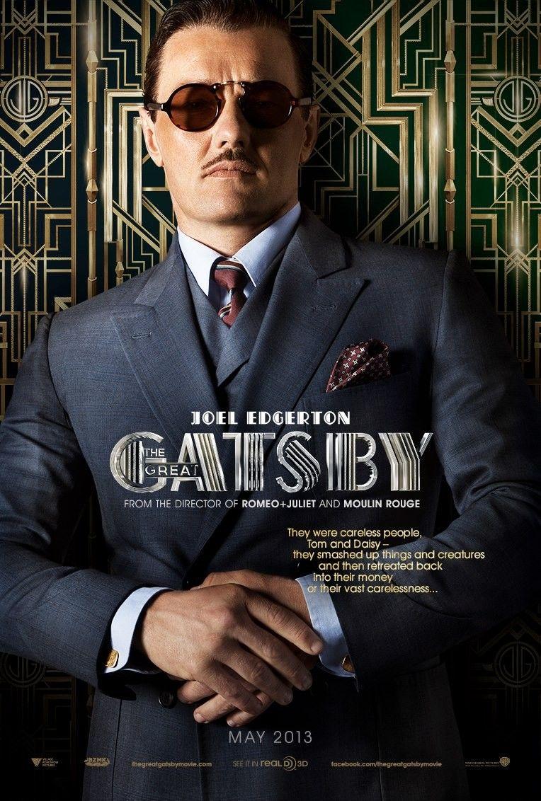 <strong><em>The Great Gatsby</em></strong> Joel Edgerton Character Poster