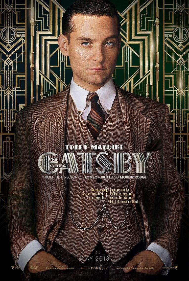 <strong><em>The Great Gatsby</em></strong> Nick Carraway Poster