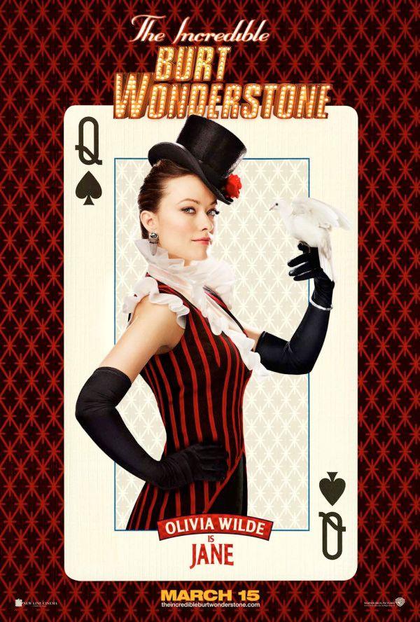 Burt Wonderstone Olivia Wilde Poster