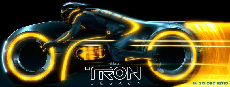 Tron Legacy Lightcycle banner