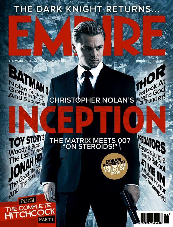 <strong><em>Inception</em></strong> magazine cover