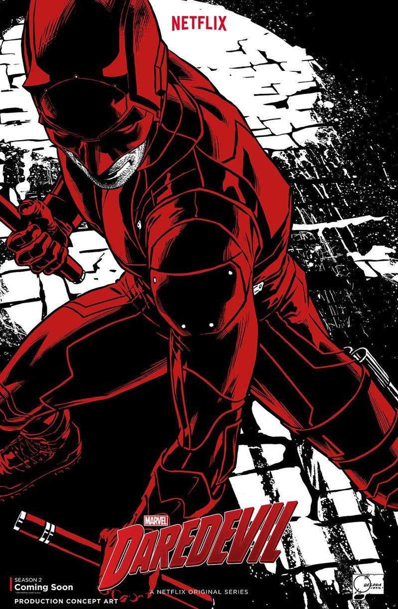 Daredevil Season 2 NYCC Poster