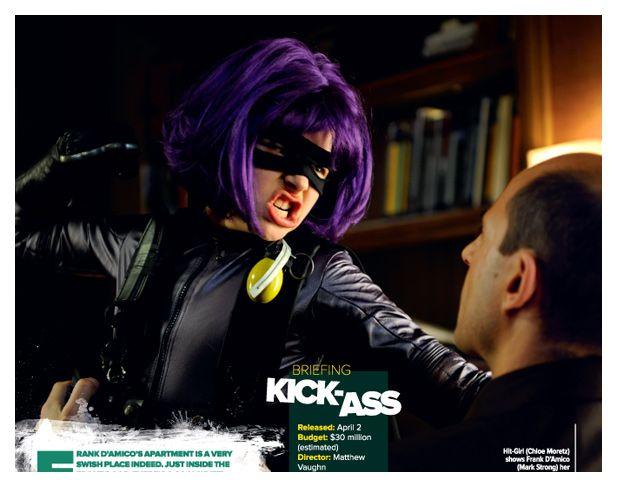 Hit Girl in <strong><em>Kick-Ass</em></strong>