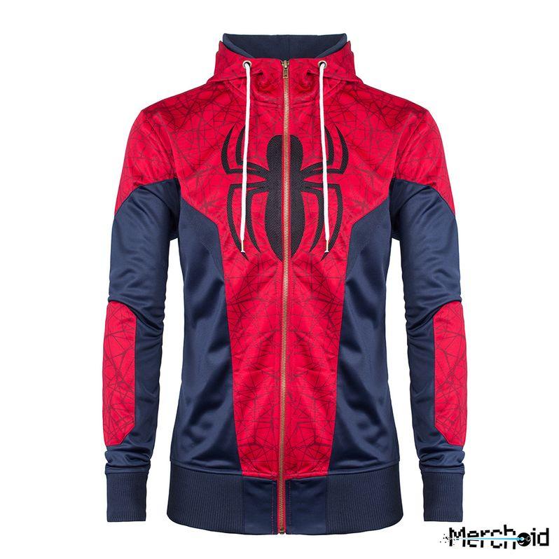 Spiderman Hoodie Marvel Merchoid #1