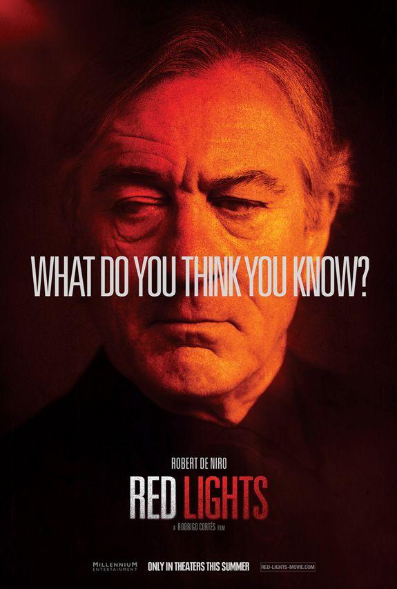 <strong><em>Red Lights</em></strong> Robert De Niro Character Poster