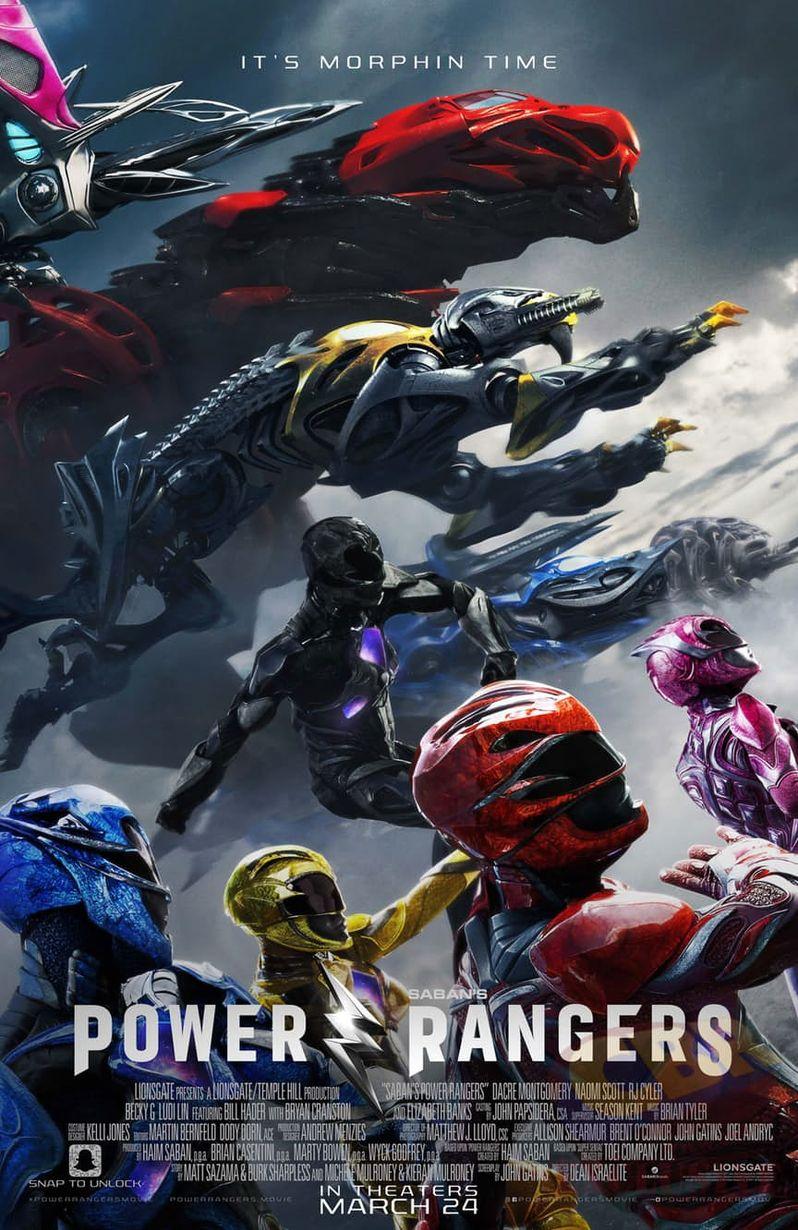 <strong><em>Power Rangers</em></strong> Movie Poster