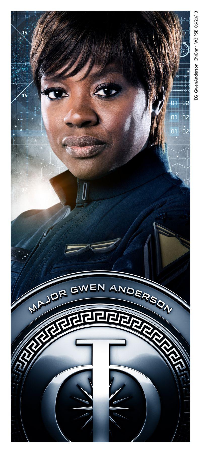 <strong><em>Ender's Game</em></strong> Viola Davis Character Poster