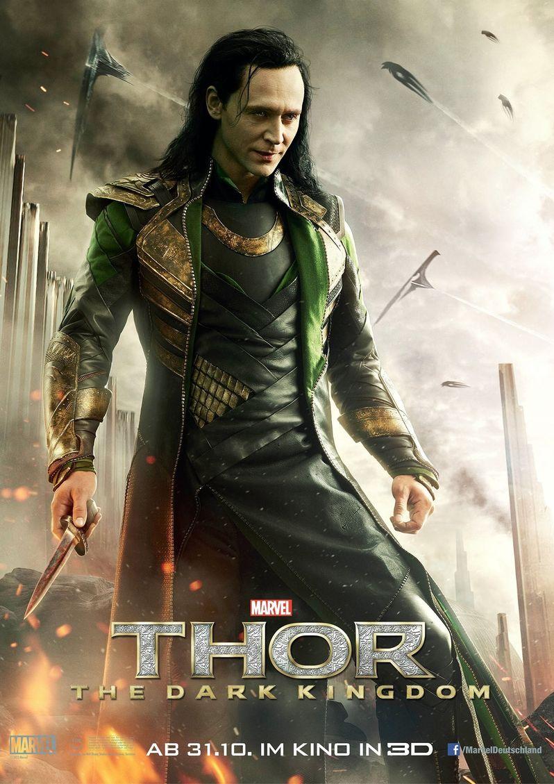 Thor the Dark World Loki Poster