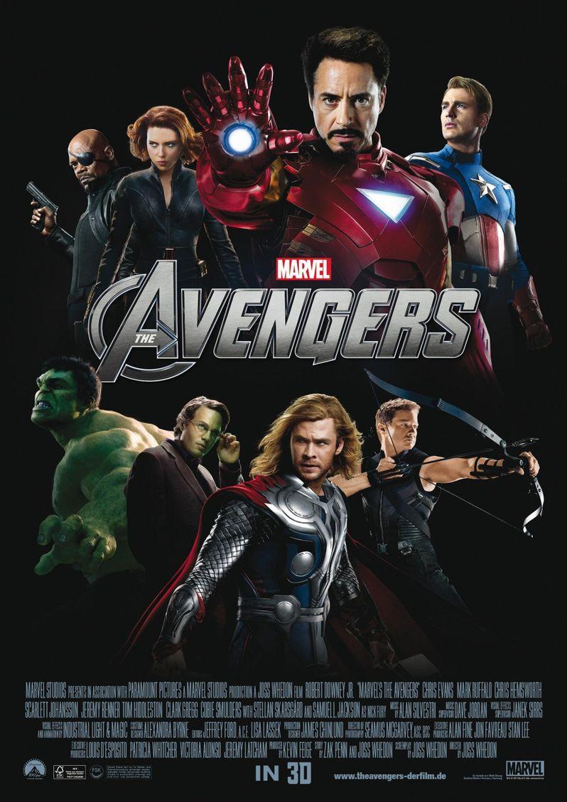 Marvels international poster