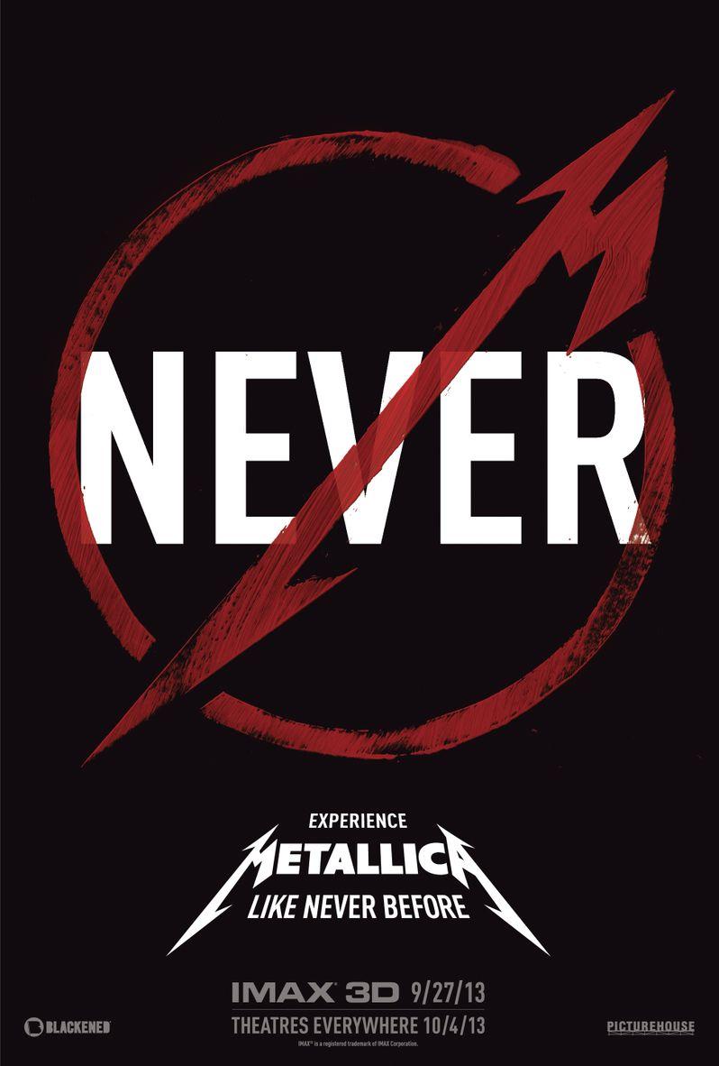 <strong><em>Metallica Through the Never</em></strong> Poster