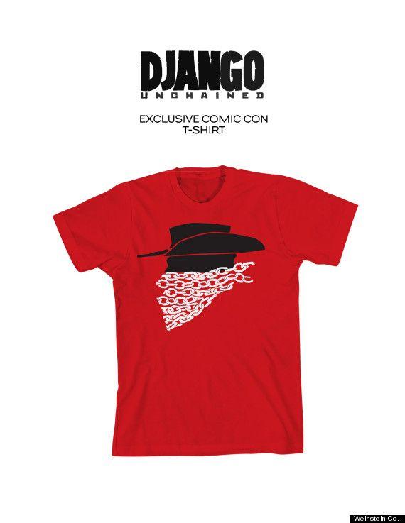 <strong><em>Django Unchained</em></strong> Comic-Con 2012 T-Shirt Photo #2