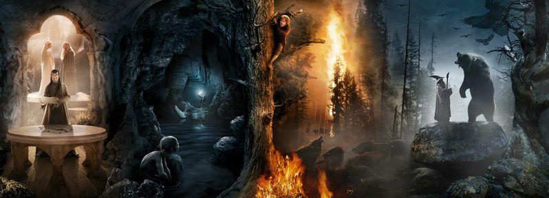 The Hobbit Banner Segment #2