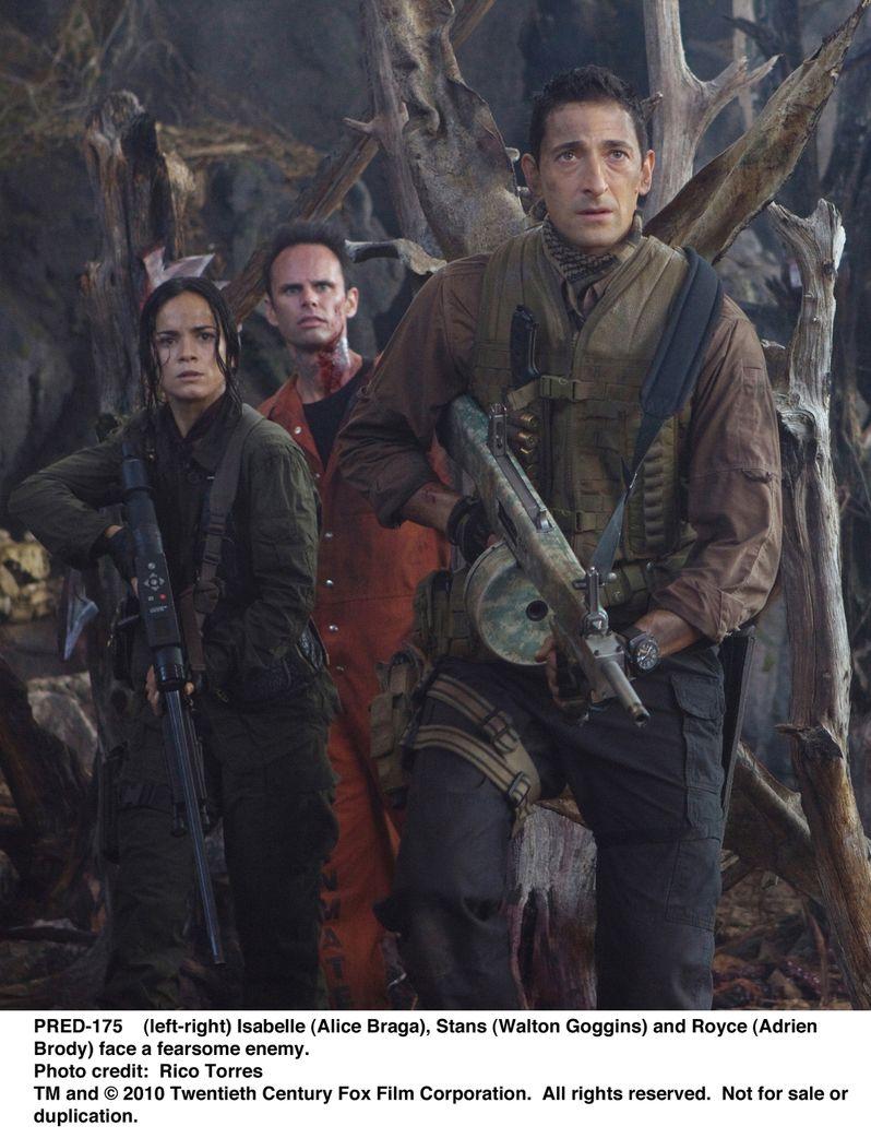 Adrien Brody, Alice Braga and Walton Goggins