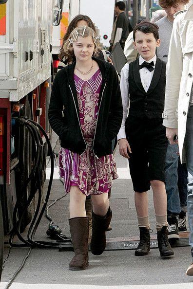 Chloe Moretz and Asa Butterfield