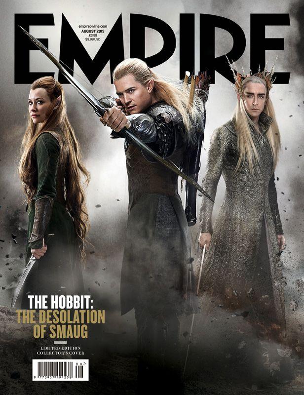 <strong><em>The Hobbit: The Desolation of Smaug</em></strong> Empire Magazine Cover 2