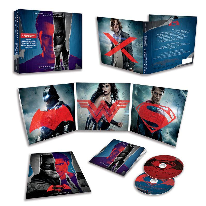 <strong><em>Batman v Superman: Dawn of Justice</em></strong> Soundtrack Artwork 2