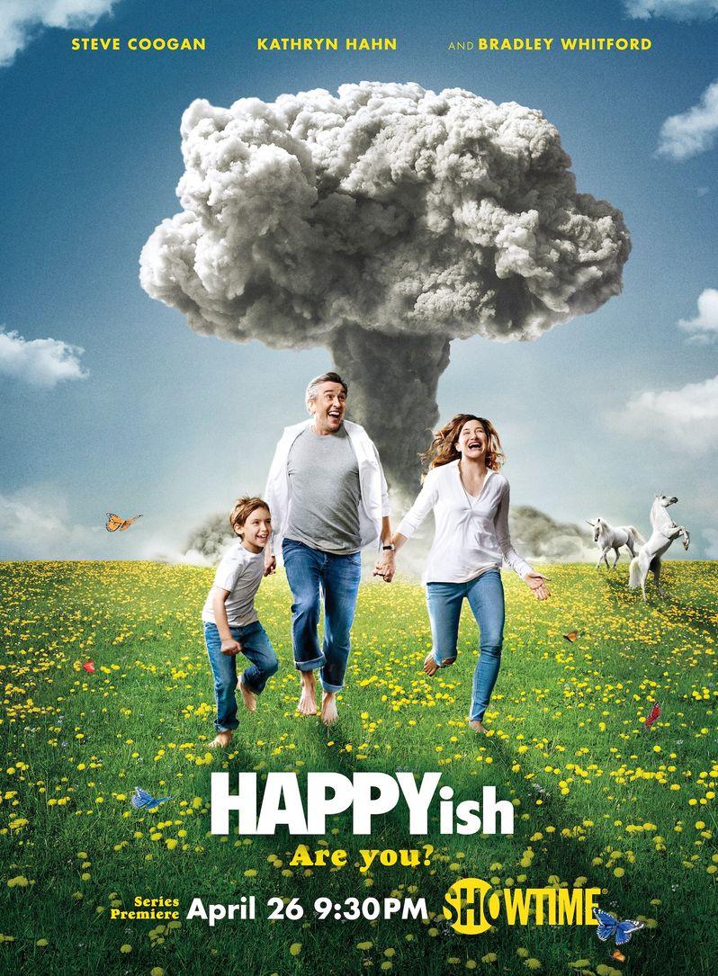 <strong><em>Happyish</em></strong> Poster