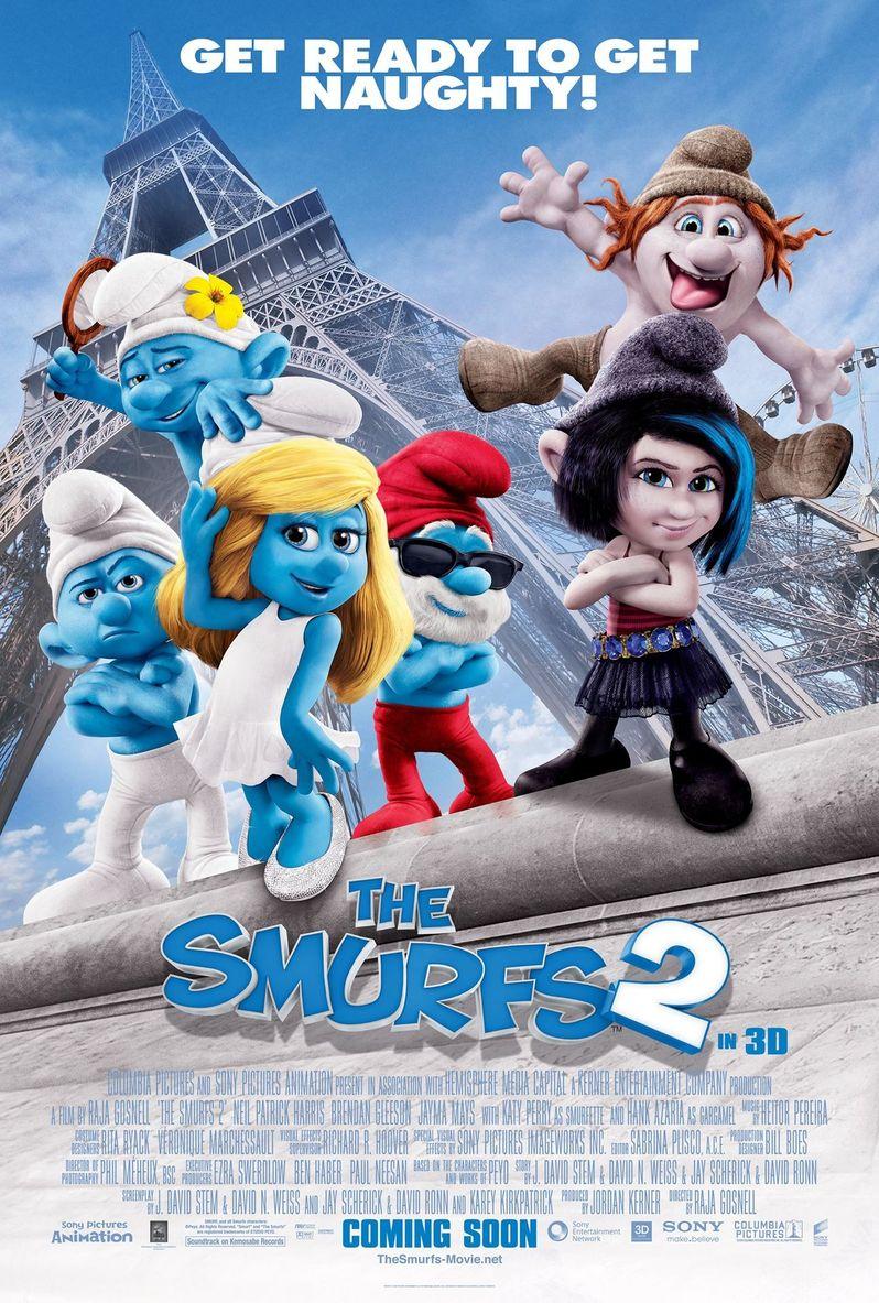<strong><em>The Smurfs 2</em></strong> Poster 3
