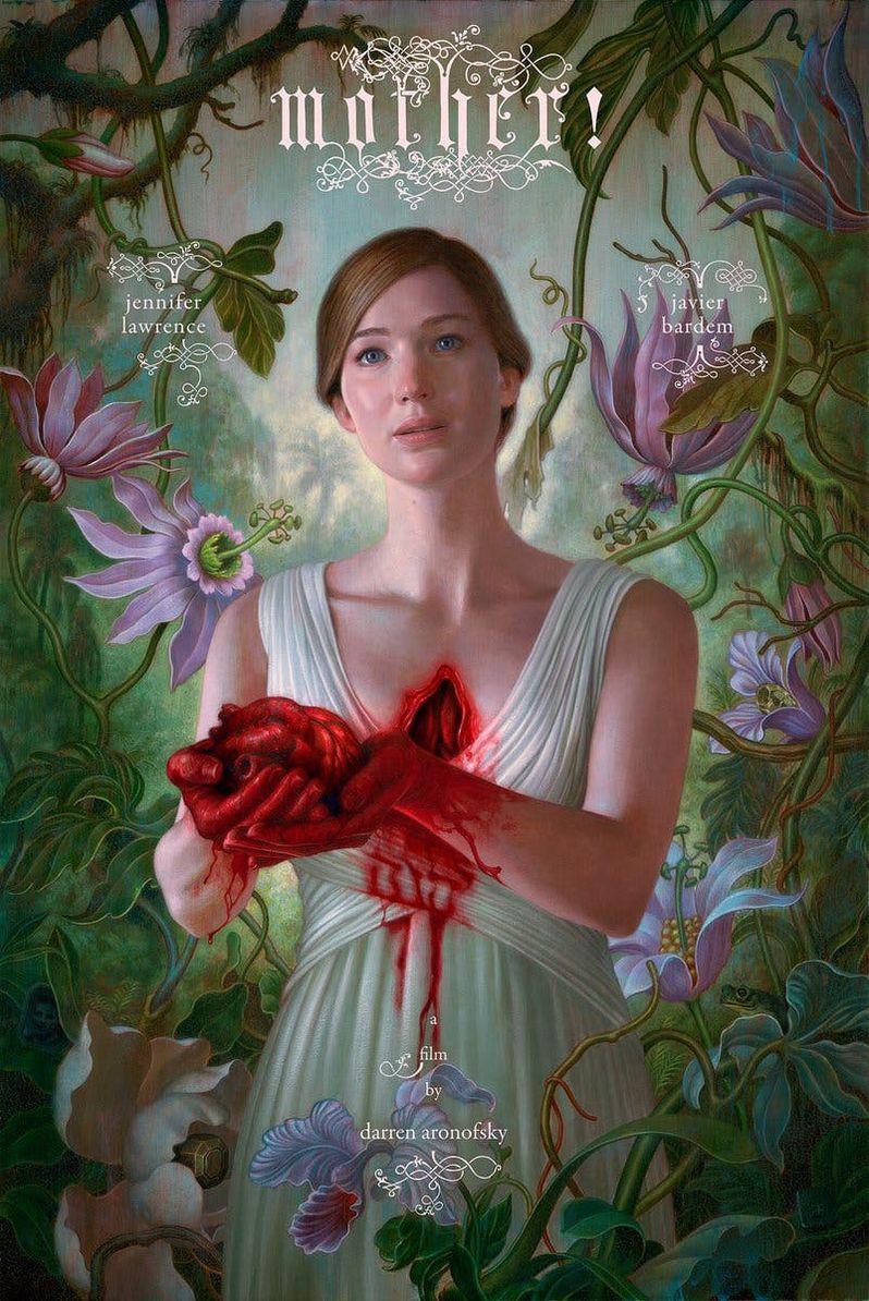 Mother Poster Jennifer Lawrence
