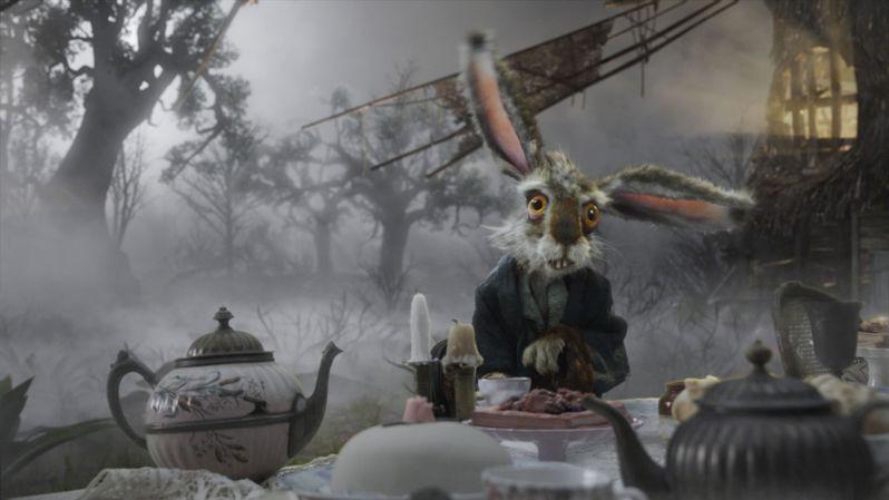 Michael Sheen as The White Rabbit