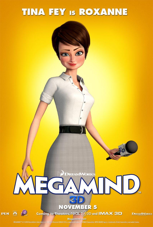 Megamind Tina Fey Character Poster