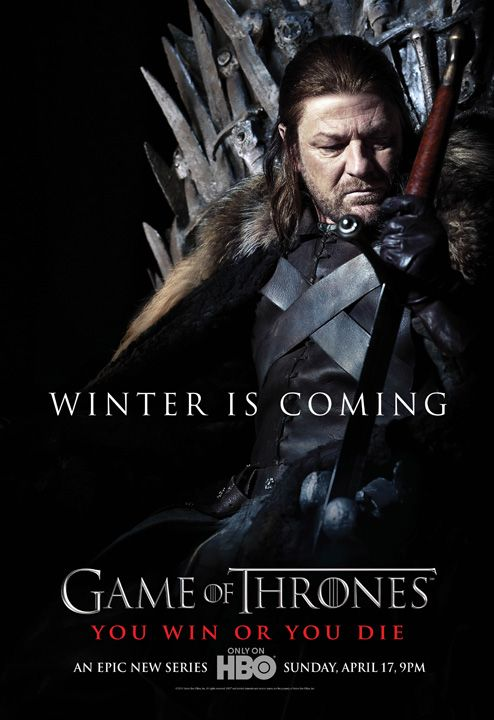 <strong><em>Game of Thrones</em></strong> Poster #1