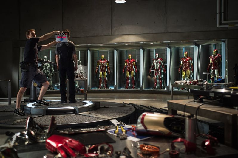 <strong><em>Iron Man 3</em></strong> Robert Downey Jr. Photo