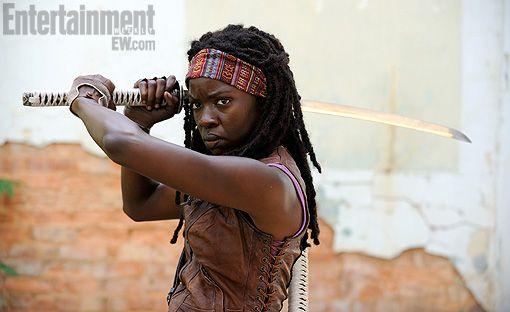 <strong><em>The Walking Dead</em></strong> Season 3 Michonne Photo