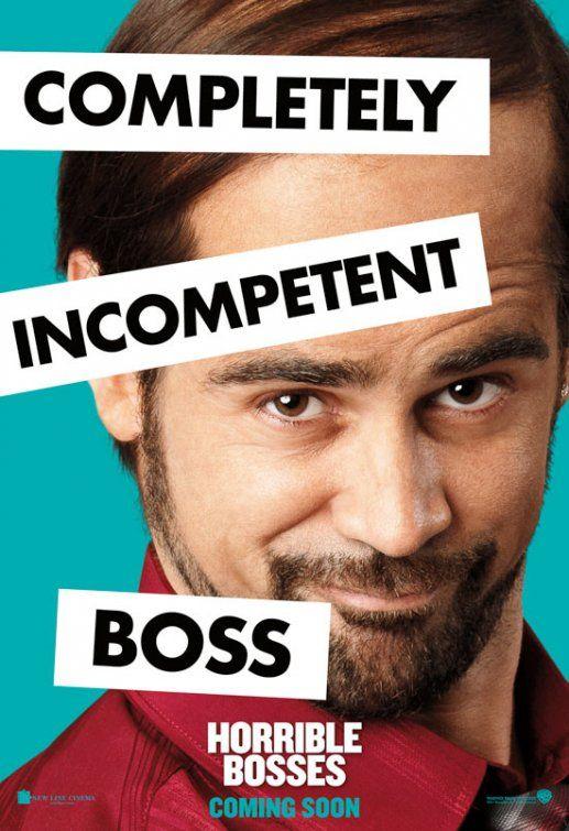 <strong><em>Horrible Bosses</em></strong> Colin Farrell Poster