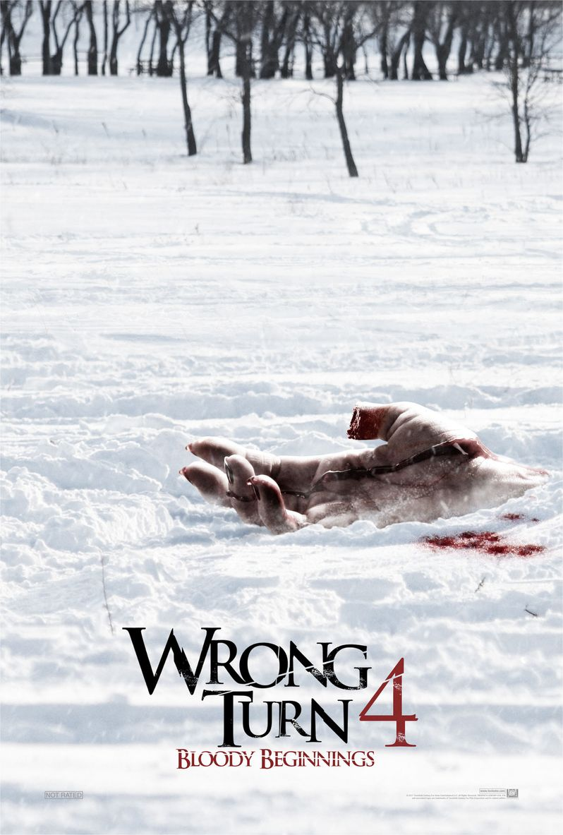 <strong><em>Wrong Turn 4: Bloody Beginnings</em></strong> Poster